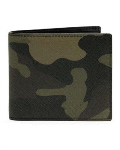 Michael Kors Men'S Jet Set Billfold Wallet 3.75''X4.5'' Camo
