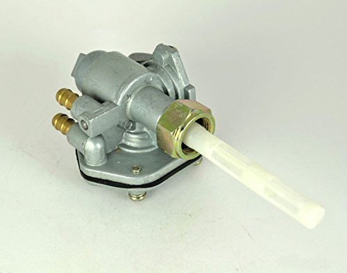Fuel Gas Cock Petcock Switch Valve for Yamaha Chappy LB50 LB80 Y50 Y80 (Yamaha Chappy Parts compare prices)