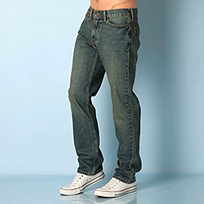 Mens Levis Mens 514 Straight Jeans Thrifty in Denim - 33R