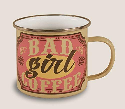 Trixie & Milo Enamel Coffee Mug (Bad Girl) by Trixie & Milo (Bad Milo Figure compare prices)