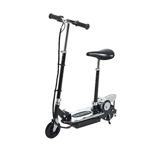 homcom-deluxe-electric-e-scooter-120w-motor-24v-battery-powered-black-special-edition