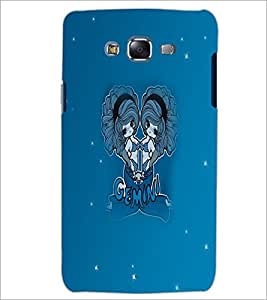 PrintDhaba Zodiac Gemini D-5605 Back Case Cover for SAMSUNG GALAXY ON 7 (Multi-Coloured)