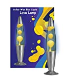 Yellow Blue Lava motion Lamp