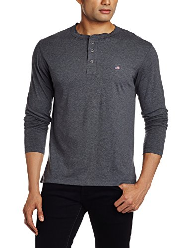 Jockey-Mens-Henley-Neck-Cotton-T-Shirt