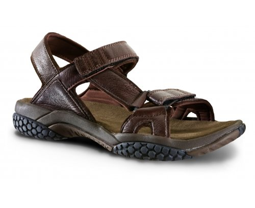 BRASHER Inca Ladies Sandals, Mahogany, UK4