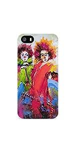 Casenation Jokers Painting iPhone 5 GlossyCase