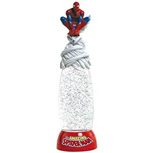 Westland Giftware Glitter Globe Lamp, 12-Inch High, Marvel Comics Spider-Man from Westland Giftware