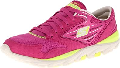 Skechers Women's Go Run Running Shoe,Pink,8 M US