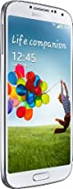 Samsung Galaxy S4 Smartphone (12,7 cm (4.99 Zoll) AMOLED-Touchscreen, 16 GB interner Speicher, 13 Megapixel Kamera, LTE, Android 4.2) - Weiß