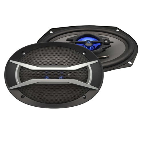 "2) New Supersonic Sc-6905 6X9"" 1200W 3-Way Car Audio Coaxial Speaker System Pair"
