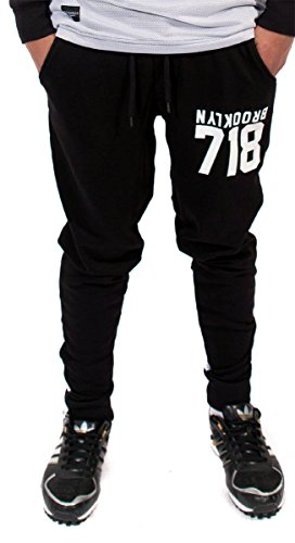 rocawear-mens-boys-gold-718-star-casual-tracksuit-joggers-jog-pants-hip-hop-s-black