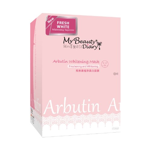 My Beauty Diary Arbutin Whitening Mask, 10 pcs