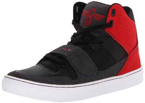 Creative Recreation  Les Cota,  Sneaker uomo, Nero (Noir (Black/Red Smoke)), 42