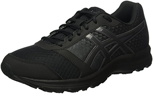 Asics Patriot 8, Scarpe da Corsa Uomo, Multicolore (Onyx/Black/Dark Steel), 43 1/2 EU