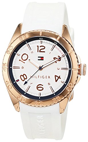 Tommy Hilfiger Damen-Armbanduhr Everyday Sport Analog Quarz Silikon 1781636 thumbnail