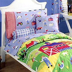 Amazon.com - OLIVE KIDS Country Farm - COMFORTER - Toddler ...
