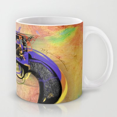 Society6 - Gun Mug By Mark Ashkenazi