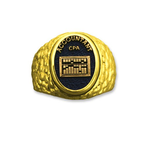 Accountant CPA 14k Professional Ring