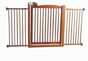 Puppy Gates Bast Richell Extra Wide Tension Mount Pet