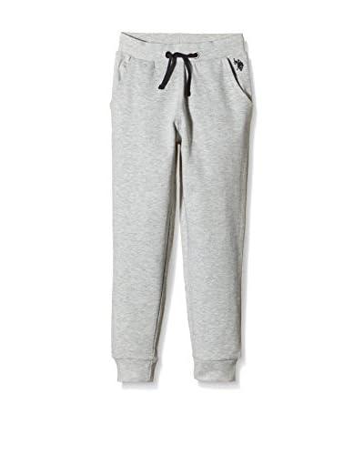 U.S. POLO ASSN. Pantalone Felpa [Bianco]