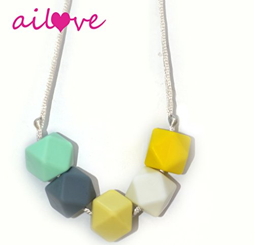 AILOVE-Silicone-Teething-Necklace-for-Fanshion-Mom-and-Babies-Safety-Knotted-Silk-Rope-BPA-Free-100-FDA-Approved-Non-Toxic-Does-Not-Pull-Hair-Out-Baby-TeetherColor-01