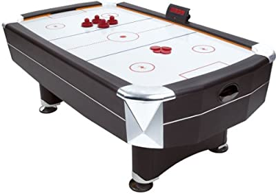 Mightymast Leisure Vortex Air Hockey Table - Black, 7 Ft from Mightymast Leisure