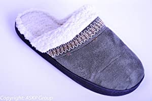 ISO Isotoner Holiday Slipper Olive / Green Size 8.5 - 9