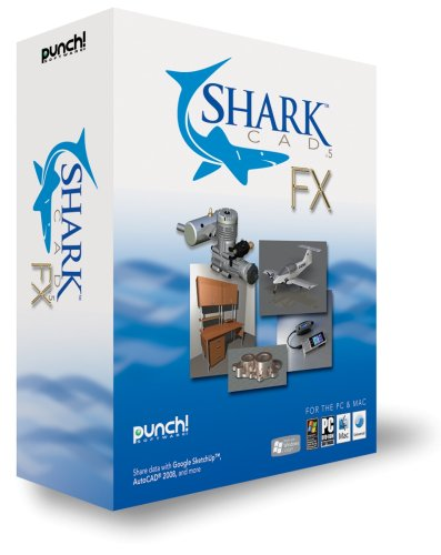 PUNCH SOFTWARE 12703 SHARK CAD FX V.5