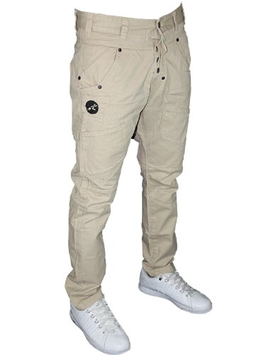 New Mens Stone Rawcraft Jeans C603543C Designer Slim Fit Chinos W30 L34