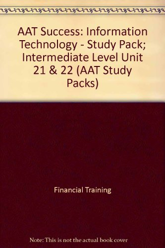 unit 10 guide aat Dates: 30 oct 2018 - 10 jul 2019 (300 hours, 30 weeks) days and times: - location: morley college london the aat level 3 advanced diploma in accounting is particularly well suited to people who have completed the aat foundation certificate in accounting or the the course includes the following units.