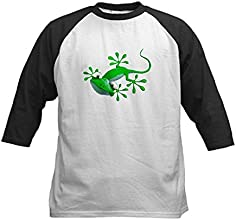 CafePress Kids Baseball Jersey - Gecko Kids Baseball Jersey