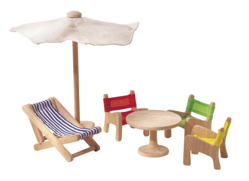Plan Toy Doll House Patio Furniture