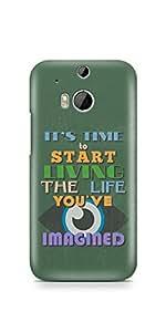 Casenation Start Living HTC One M8 Glossy Case