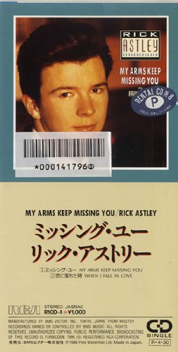 Rick Astley - My Arms Keep Missing You (Single) - Zortam Music