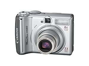 Canon PowerShot A560 7.1MP Digital Camera with 4x Optical Zoom