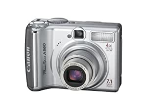 Canon PowerShot A560 7.1MP Digital Camera with 4x Optical Zoom (OLD MODEL)
