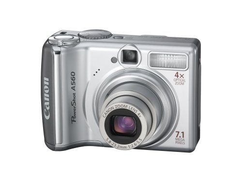 Canon PowerShot A560 is one of the Best Compact Point and Shoot Digital Cameras for Travel and Action Photos Under $200