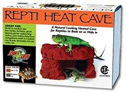 Zoo Med Repti Heat Cave(Available in two colors Santa Fe Red or Quarry Stone Gray)