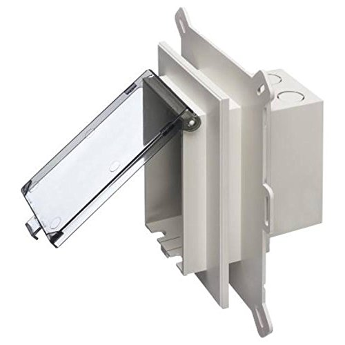 Low Profile In Box New Siding Recessed Electrical Box Clear Cover