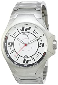 Puma Time Motorsport Herrenuhr TOP GEAR UP 3HD METAL SILVER A.PU100071003