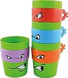Estados Labels 0118508 Tortugas - tazas de plástico para beber, juego de 4, 300 ml