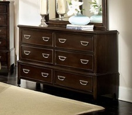 Dresser in Cherry Brown by Homelegance