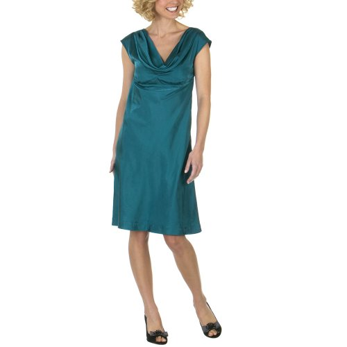 Target Limited Edition Cowl Neck Dress - Teal Canal