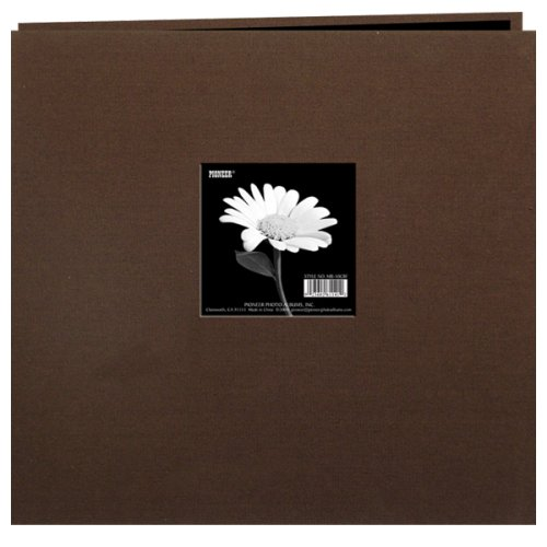 pioneer-12-inch-by-12-inch-postbound-frame-cover-memory-book-chocolate-brown