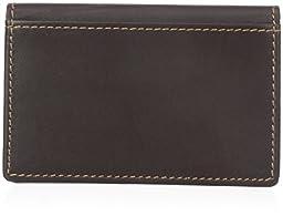 Dopp Men's Regatta Business Card Case, Mahogany, One Size