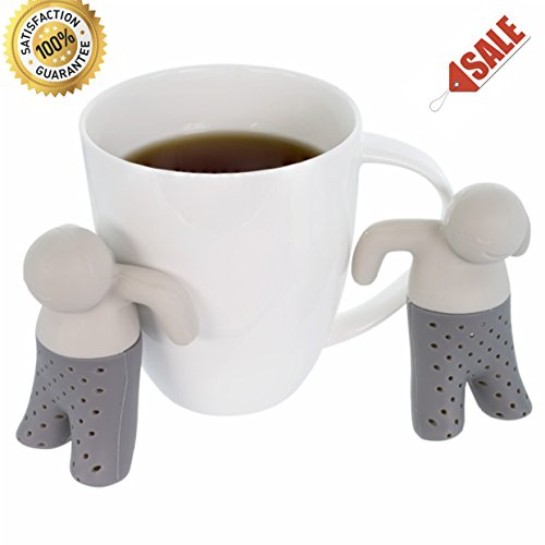 Wishstone Mr / Mister Happy Man Tea Infuser Set Of 2