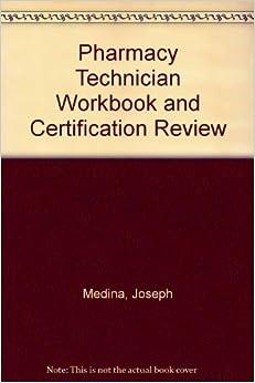 pharmacy technician review book pdf