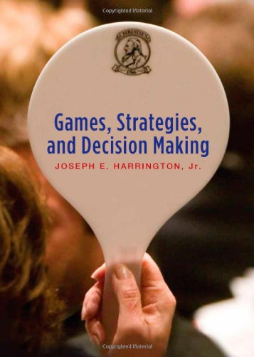 Games, Strategies And Decision Making front-76220