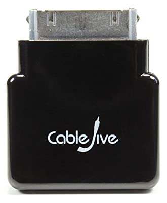 CableJive dockStubz+ Charge Converter and 30-pin Pass Through Adapter for iPhone, iPod, and iPad by CableJive