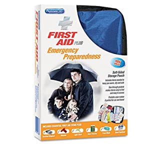 "Soft-Sided First Aid and Emergency Kit, Contains 105 Pieces by ACME UNITED CORPORATION (Catalog Category: Office Maintenance, Janitorial & Lunchroom / Well Being, Safety & Security / First Aid/Kits"")"